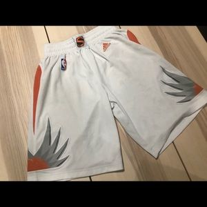 Adidas Phoenix Suns Authentic Home Jersey Shorts
